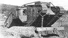 Britse Mark IV tank uit 1917